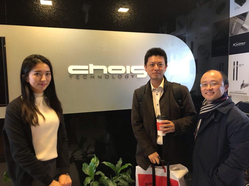 Chois Technology社(韓国)を訪問しました