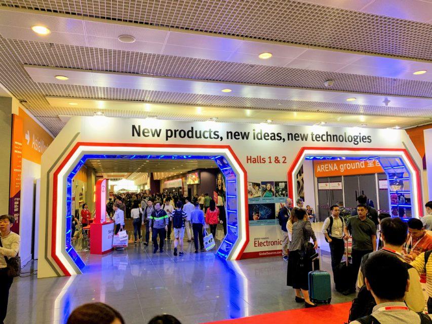 香港エレショーの双璧、global sources Consumer Electronicsに来ています!