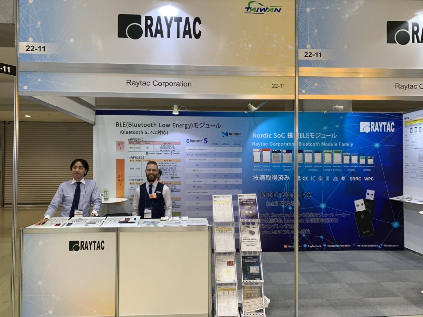 IoT/M2M展2019にRaytacと共同出展しました!