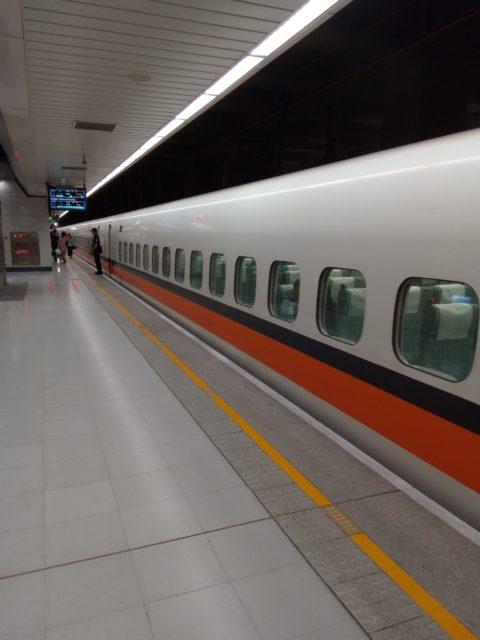 台湾の新幹線、台灣高鐵に乗る